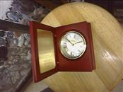 DANBURY MINT Quartz Desk Clock THINGS REMEMBERED with Brass Engraved Plate